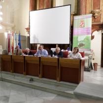 Reunión de la Junta Directiva de Cronistas Oficiales en Jaén.